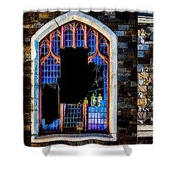 Faith Shower Curtain by Bob Orsillo
