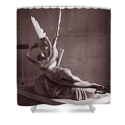 Faith  Shower Curtain by Joe Schofield