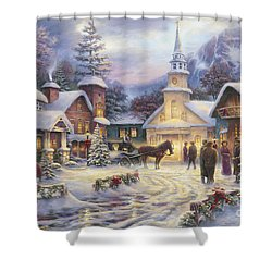 Faith Runs Deep Shower Curtain by Chuck Pinson