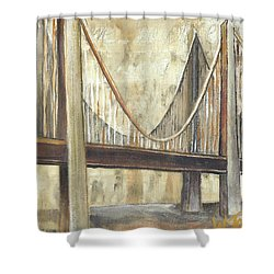 'faith' Shower Curtain