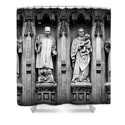 Faithful Witnesses Shower Curtain by Stephen Stookey