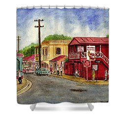 Fajardo Puerto Rico Shower Curtain