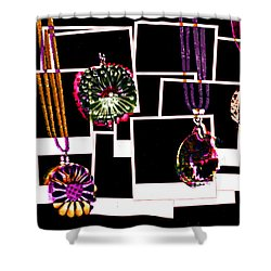 Fake Jewellery  Shower Curtain by Steve Taylor