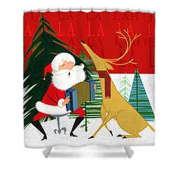 Falalalalah Shower Curtain