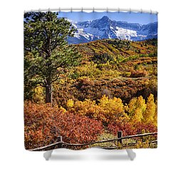 Fall At Dallas Divide Shower Curtain