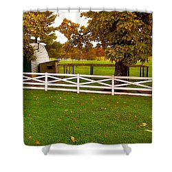 Fall At Eisenhower Farm Shower Curtain