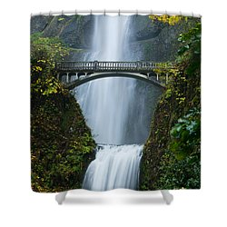 Fall At Multnomah Falls Shower Curtain