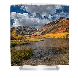 Fall At North Lake Shower Curtain by Cat Connor