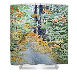Fall Shower Curtain