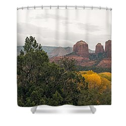 Fall Color Sedona 0495 Shower Curtain