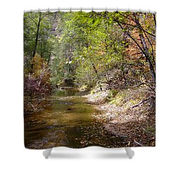 Fall Colors 6379 Shower Curtain by En-Chuen Soo