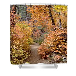 Fall Colors 6454 Shower Curtain by En-Chuen Soo