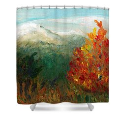 Fall Day Too Shower Curtain by C Sitton