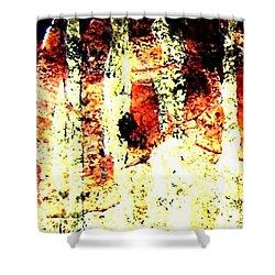 Fall Fashion Film Clip Shower Curtain