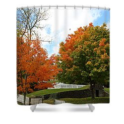 Fall Foliage Colors 09 Shower Curtain