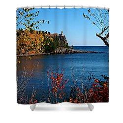 Fall For Split Rock Lighthouse Shower Curtain