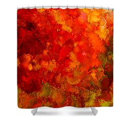 Fall Frolic Shower Curtain