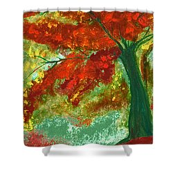 Fall Impression By Jrr Shower Curtain by First Star Art