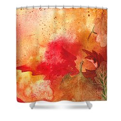 Fall Impressions Shower Curtain by Irina Sztukowski