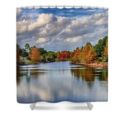 Fall In Florida Shower Curtain
