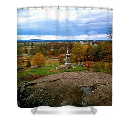 Fall In Gettysburg Shower Curtain