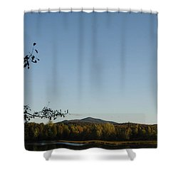 Fall In The Adirondacks Shower Curtain