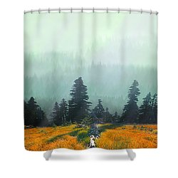 Fall In The Northwest Shower Curtain