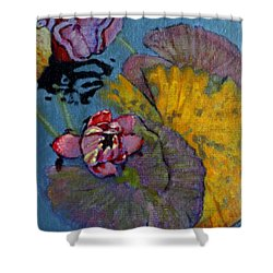 Fall Lily Shower Curtain