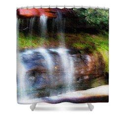 Shower Curtain featuring the photograph Fall by Miroslava Jurcik
