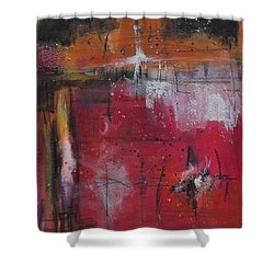 Fall Shower Curtain by Nicole Nadeau