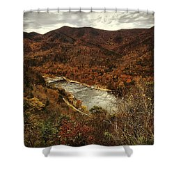 Fall On The Maury Shower Curtain