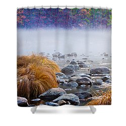 Fall On The Merced Shower Curtain