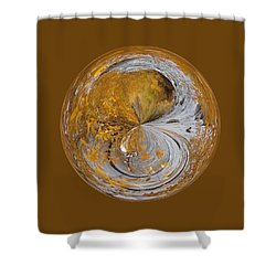 Fall Orb Shower Curtain