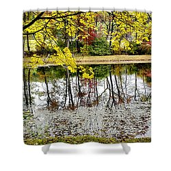 Fall Reflections Shower Curtain by Brian Wallace