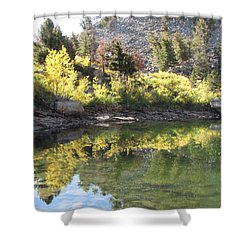 Fall Reflections Shower Curtain