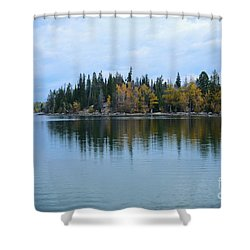 Fall Reflections Shower Curtain by Kathleen Struckle