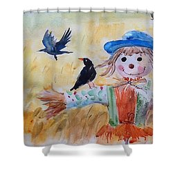 Fall Smile Shower Curtain
