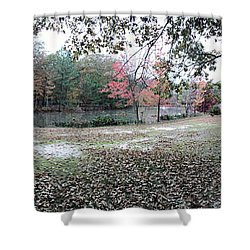 Fall Time Shower Curtain