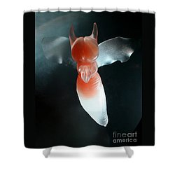 Shower Curtain featuring the photograph Fallen Angel by PJ Boylan