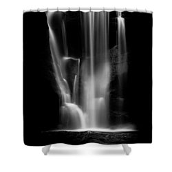 Falling Light Shower Curtain