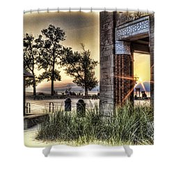 Falling Star Shower Curtain