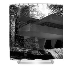 Falling Waters Shower Curtain by Louis Ferreira