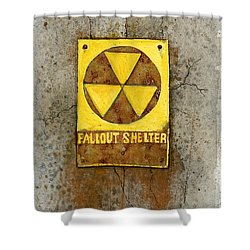 Fallout Shelter #1 Shower Curtain