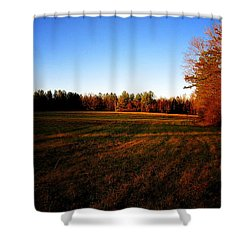 Fallow Field Shower Curtain by Greg Simmons