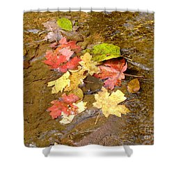 Falls Colors 6349 Shower Curtain by En-Chuen Soo