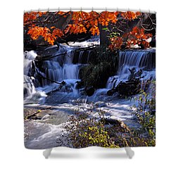Falls In The Fall Shower Curtain