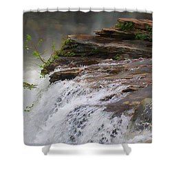 Falls Of Alabama Shower Curtain