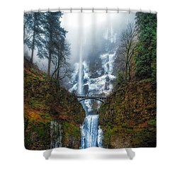 Falls Of Heaven Shower Curtain by James Heckt