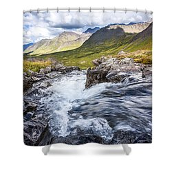 Falls With A View Shower Curtain