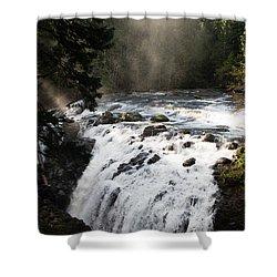 Waterfall Magic Shower Curtain by Marilyn Wilson